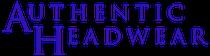 authentic headwear logo
