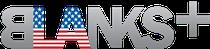 blanks plus logo
