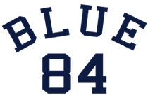 blue 84 logo