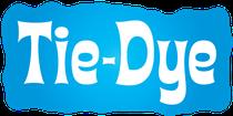 tie-dye logo