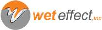 wet effect logo