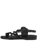 american apparel, sjsmsandlm, mens jerusalem sandal with straps -  |