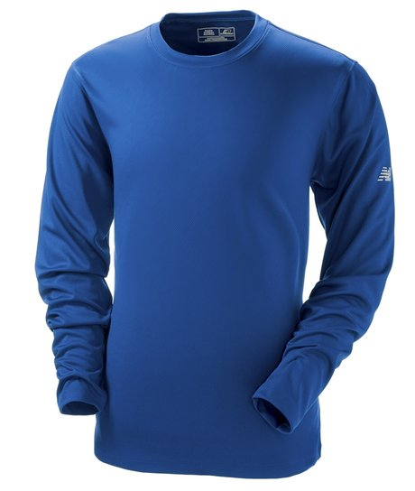 396b458d1aaa7 new balance, nb7119, men's ndurance athletic long-sleeve t-shirt - none