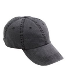a96a3ffccd3 6-Panel Pigment-Dyed Twill Cap