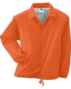 Lined Nylon Coach's Jacket